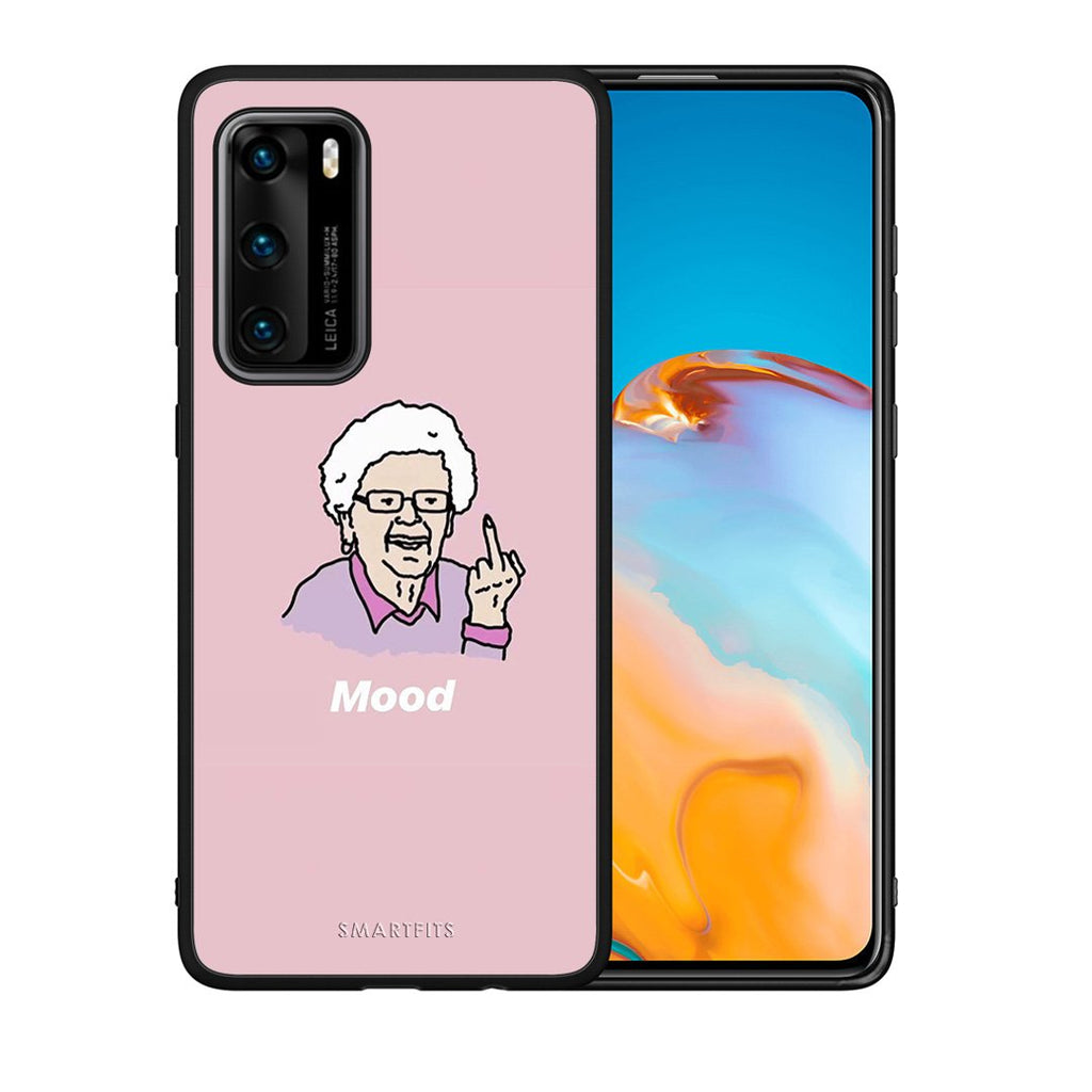 4 - Huawei P40 Mood PopArt case, cover, bumper