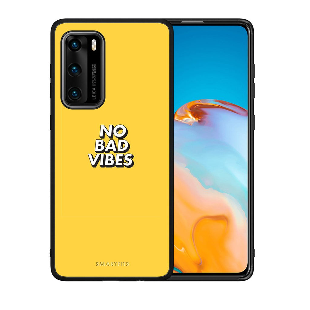 4 - Huawei P40 Vibes Text case, cover, bumper