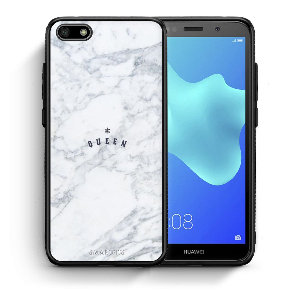 4 - Huawei Y5 2018 Queen Marble case, cover, bumper