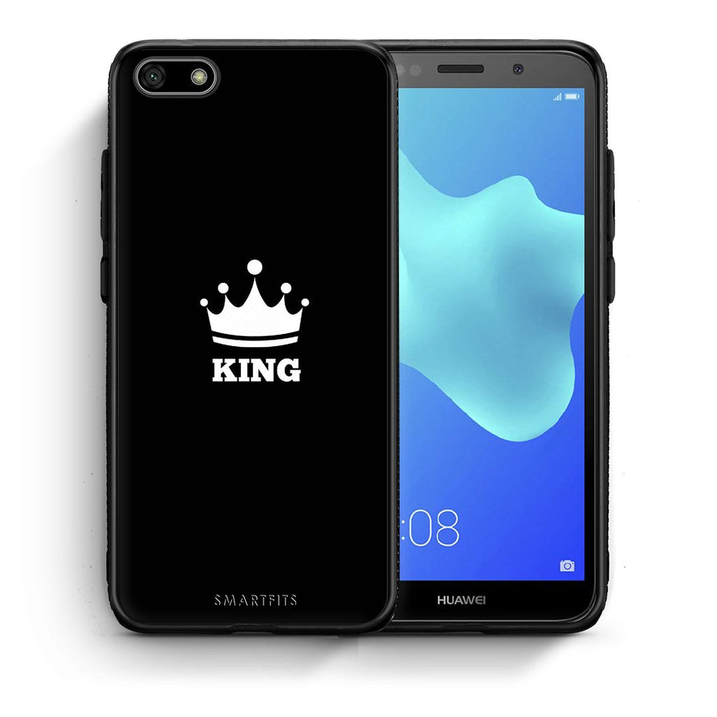 4 - Huawei Y5 2018 King Valentine case, cover, bumper