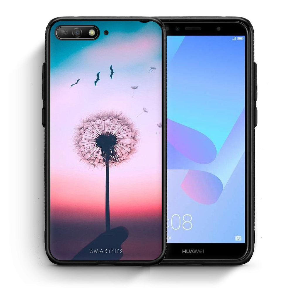 4 - Huawei Y6 2018 Wish Boho case, cover, bumper