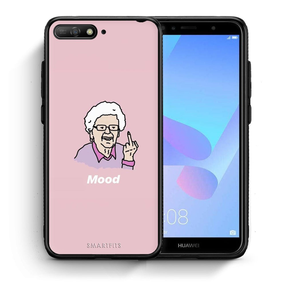 4 - Huawei Y6 2018 Mood PopArt case, cover, bumper