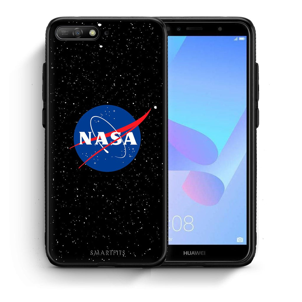 4 - Huawei Y6 2018 NASA PopArt case, cover, bumper