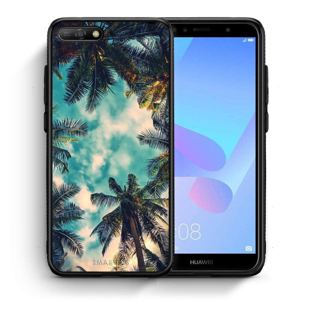 4 - Huawei Y6 2018 Bel Air Tropic case, cover, bumper