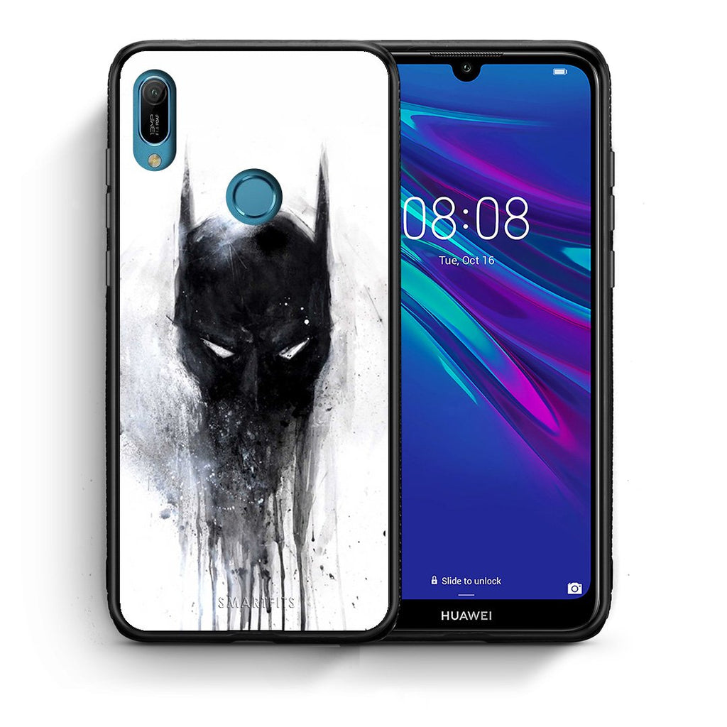 4 - Huawei Y6 2019 Paint Bat Hero case, cover, bumper