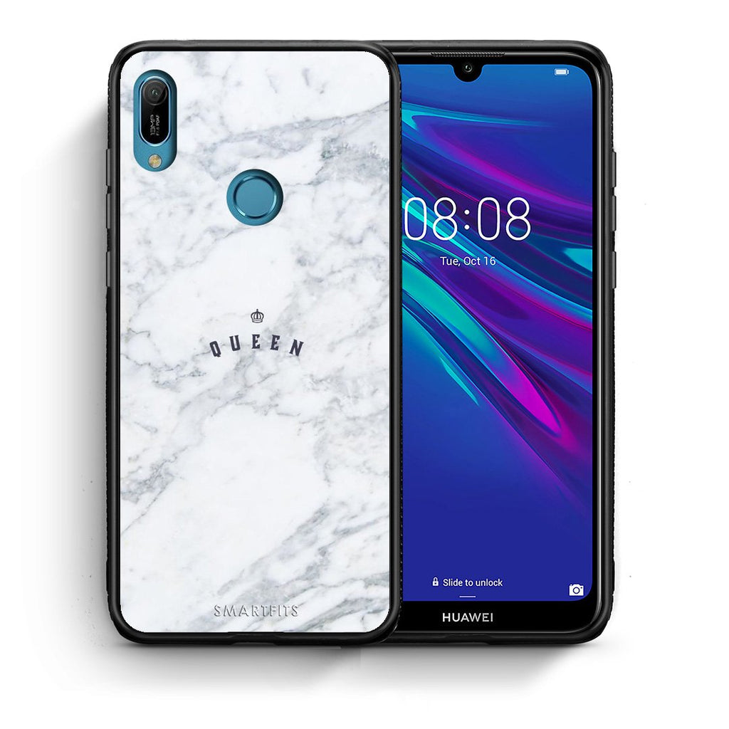 4 - Huawei Y6 2019 Queen Marble case, cover, bumper