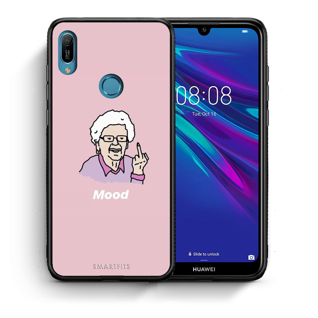 4 - Huawei Y6 2019 Mood PopArt case, cover, bumper