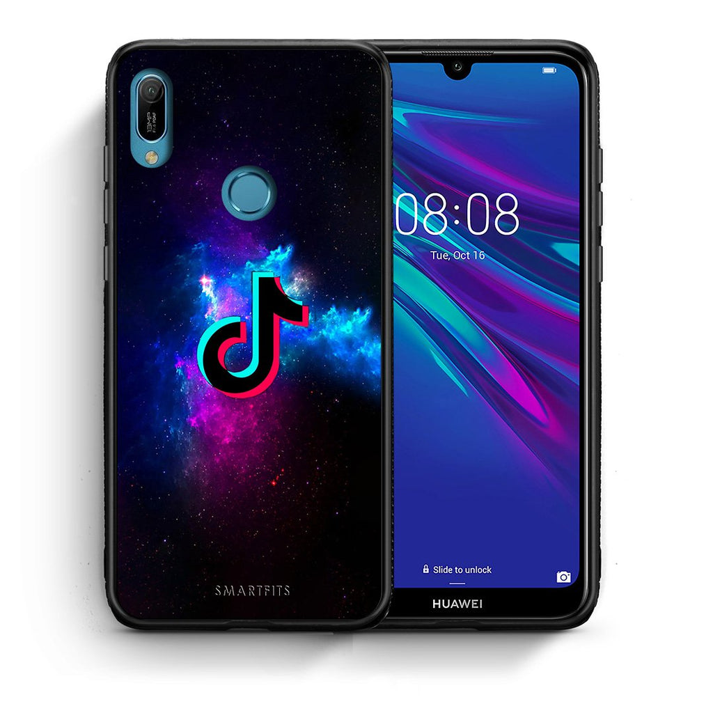 4 - Huawei Y6 2019 TikTok Text case, cover, bumper