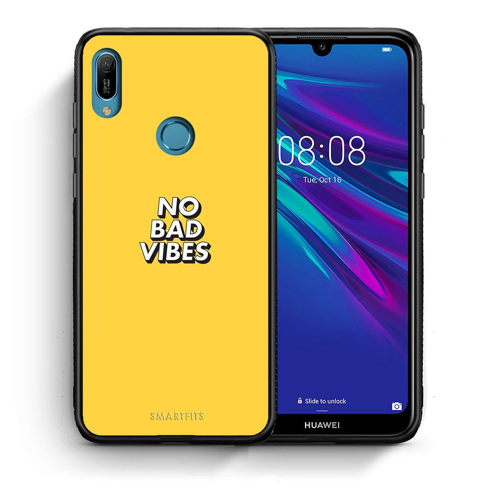4 - Huawei Y6 2019 Vibes Text case, cover, bumper