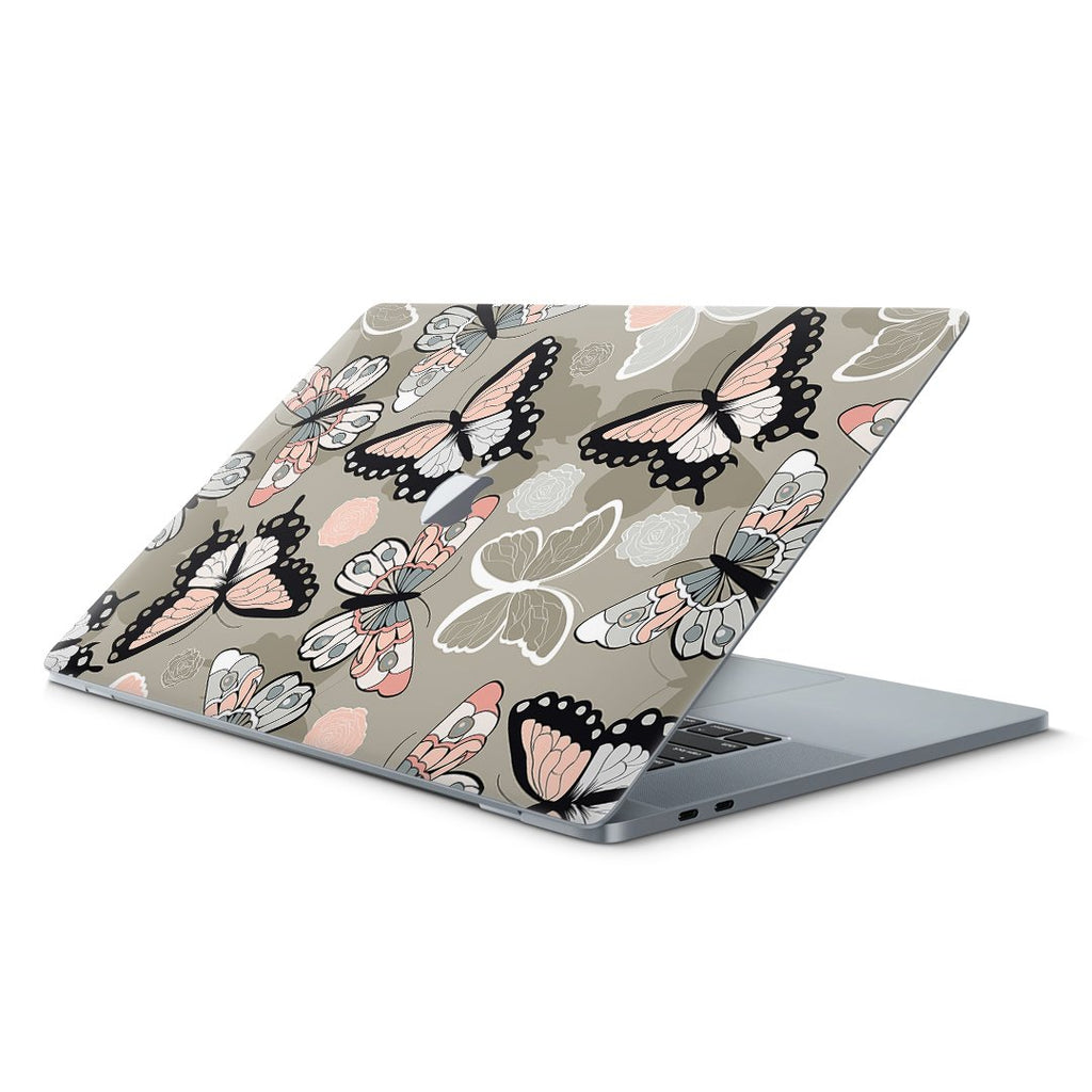 "135 - Macbook Pro 13"" Retina Butterflies Boho smartfit, skin, wrap, decal, sticker"