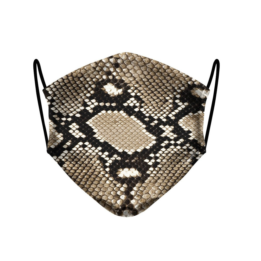 23 - Face Mask  Fashion Snake Animal case, cover, bumper