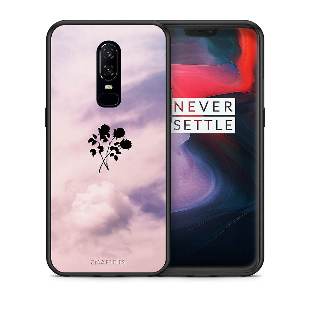 4 - OnePlus 6 Sky Flower case, cover, bumper