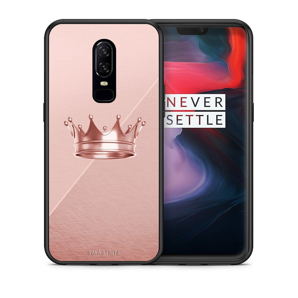 4 - OnePlus 6 Crown Minimal case, cover, bumper