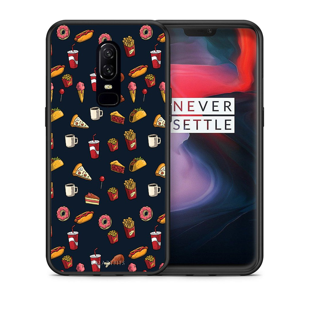 118 - OnePlus 6 Hungry Random case, cover, bumper