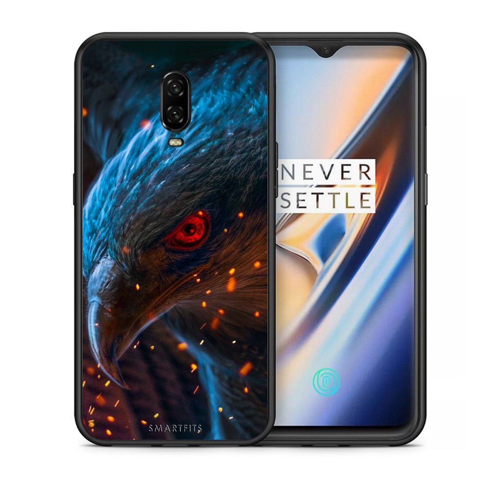 4 - OnePlus 6T Eagle PopArt case, cover, bumper