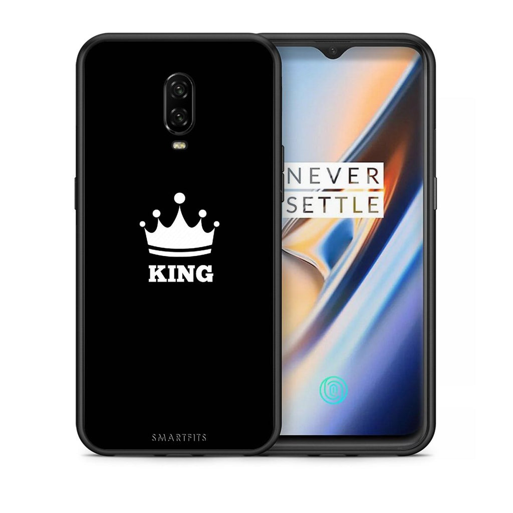 4 - OnePlus 6T King Valentine case, cover, bumper