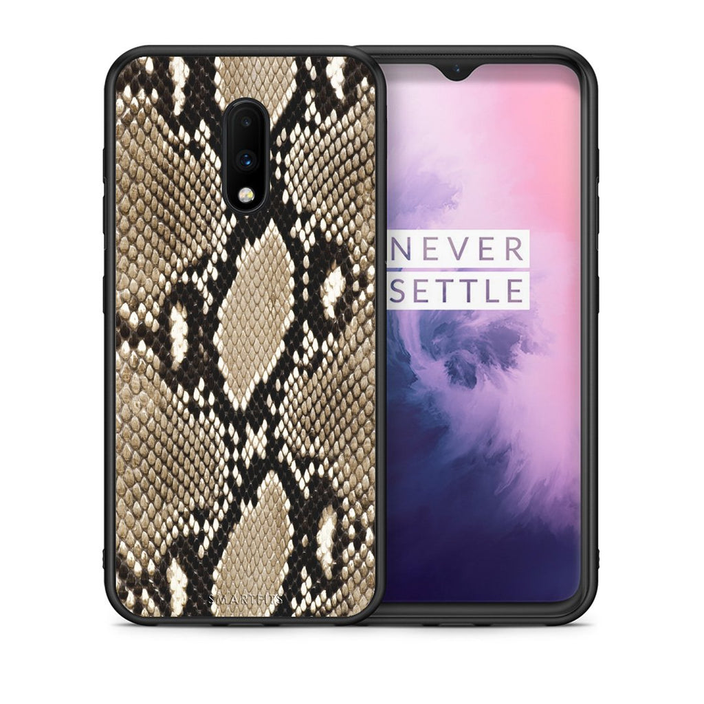 23 - OnePlus 7 Fashion Snake Animal case, cover, bumper