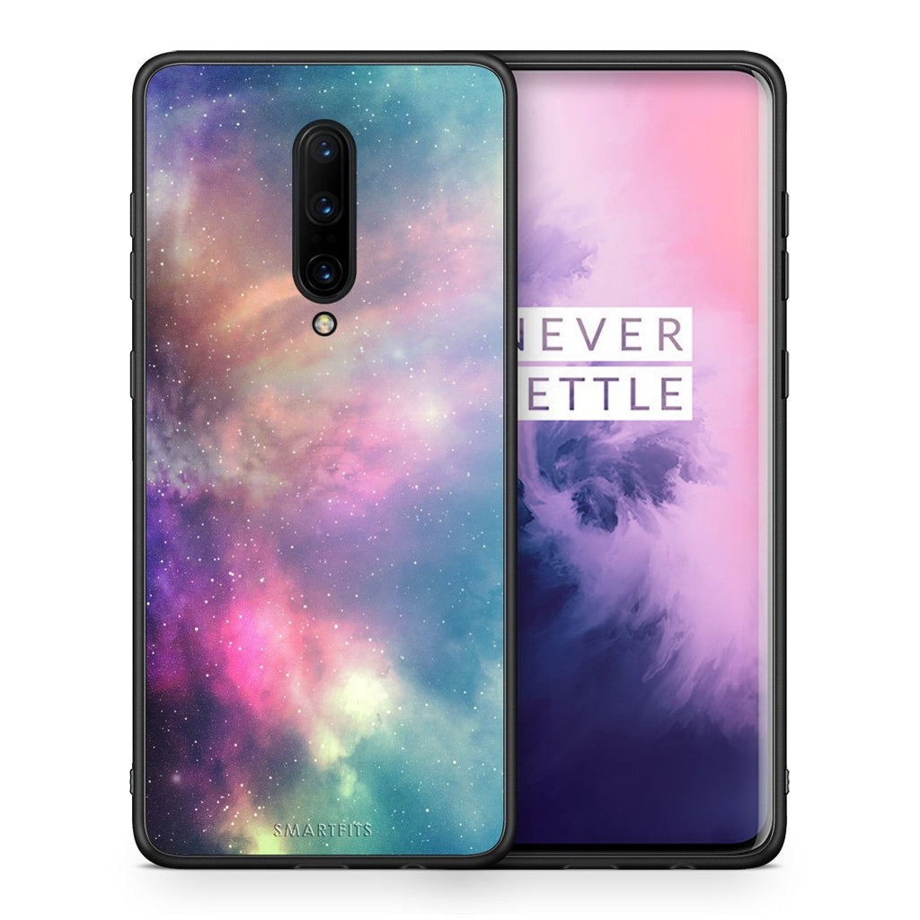 105 - OnePlus 7 Pro Rainbow Galaxy case, cover, bumper