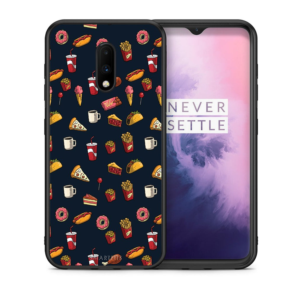 118 - OnePlus 7 Hungry Random case, cover, bumper