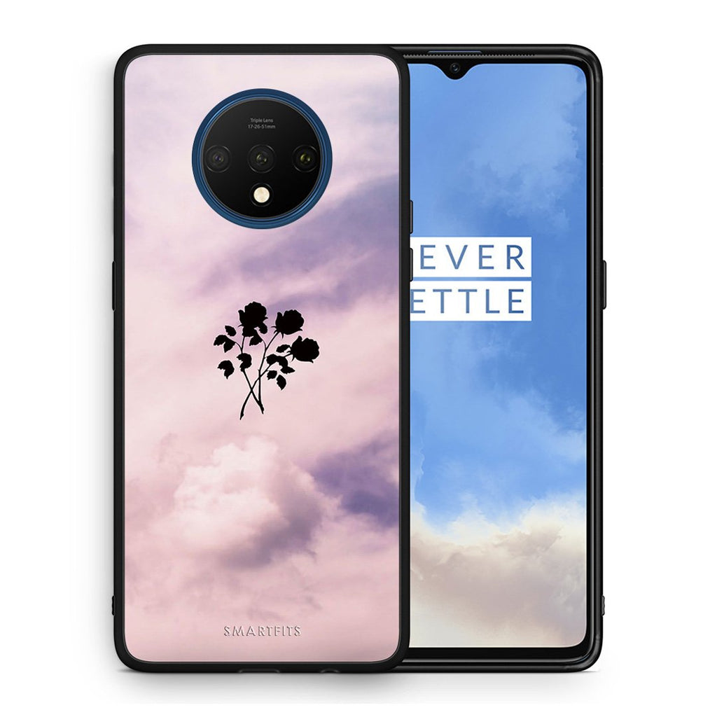 4 - OnePlus 7T Sky Flower case, cover, bumper
