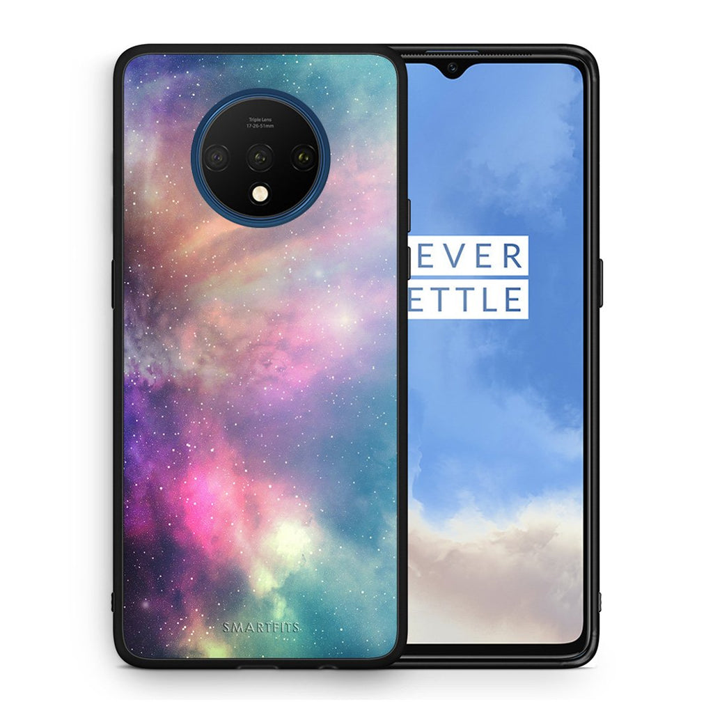 105 - OnePlus 7T  Rainbow Galaxy case, cover, bumper