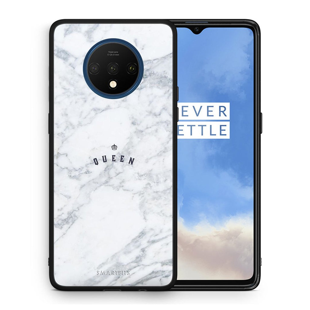 4 - OnePlus 7T Queen Marble case, cover, bumper