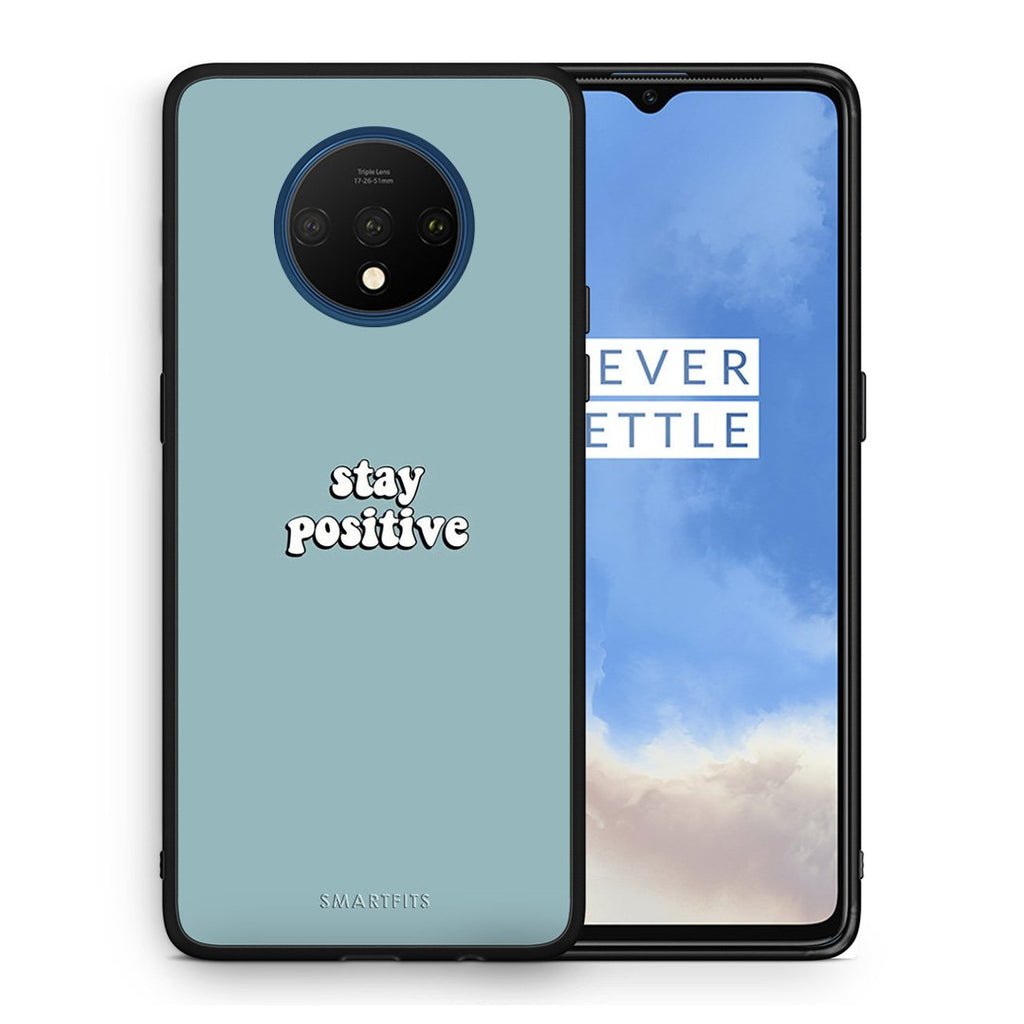 4 - OnePlus 7T Positive Text case, cover, bumper