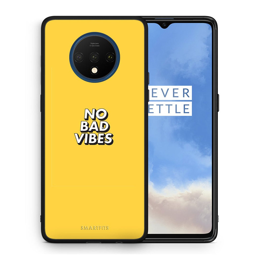 4 - OnePlus 7T Vibes Text case, cover, bumper
