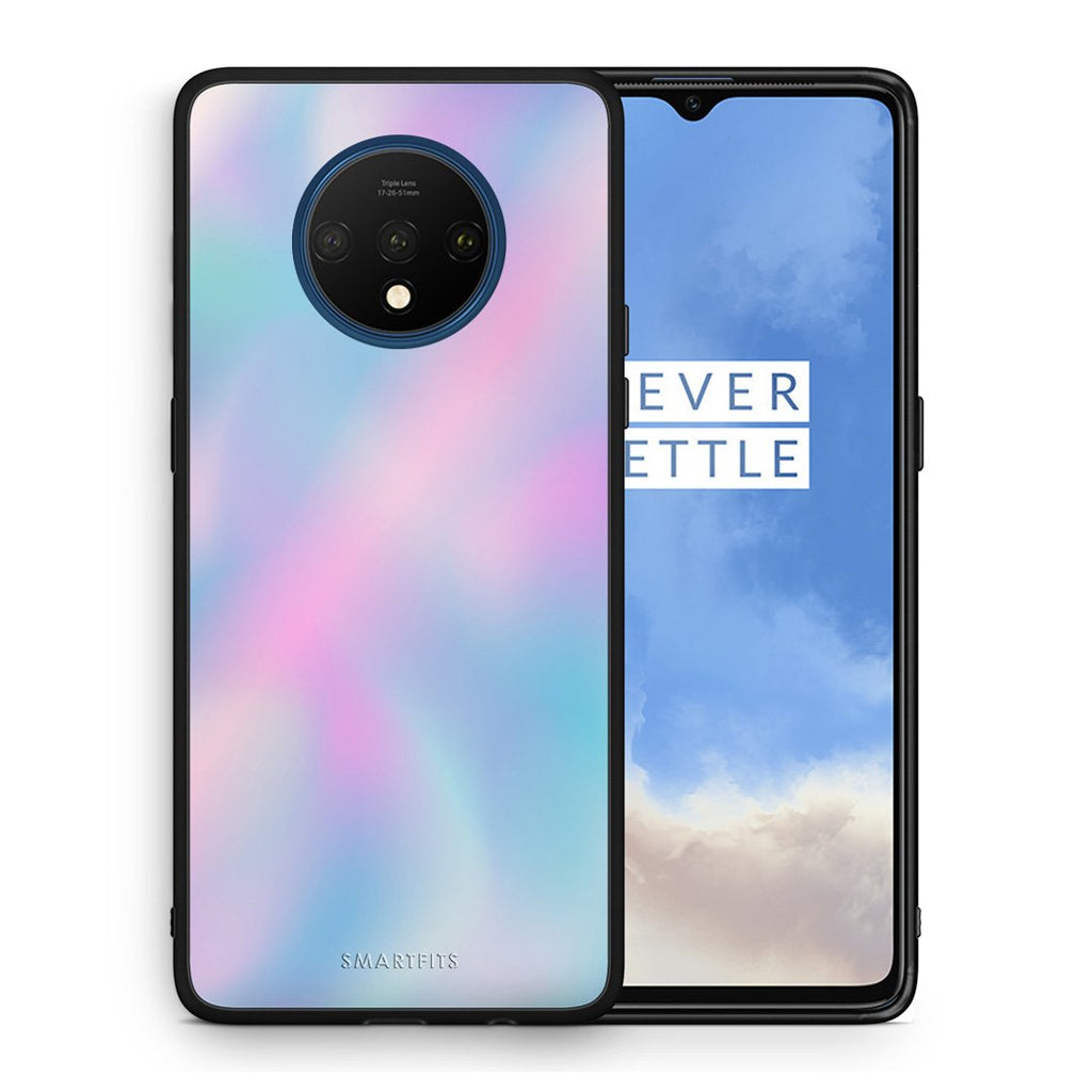 99 - OnePlus 7T  Watercolor Rainbow case, cover, bumper