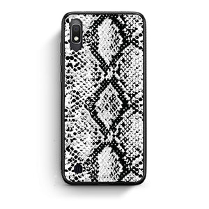 24 - Samsung A10  White Snake Animal case, cover, bumper