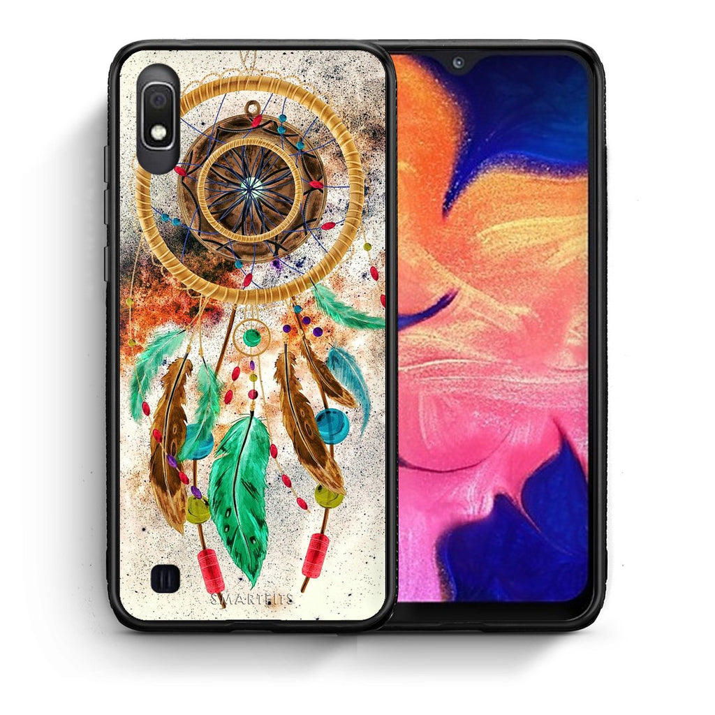 4 - Samsung A10 DreamCatcher Boho case, cover, bumper