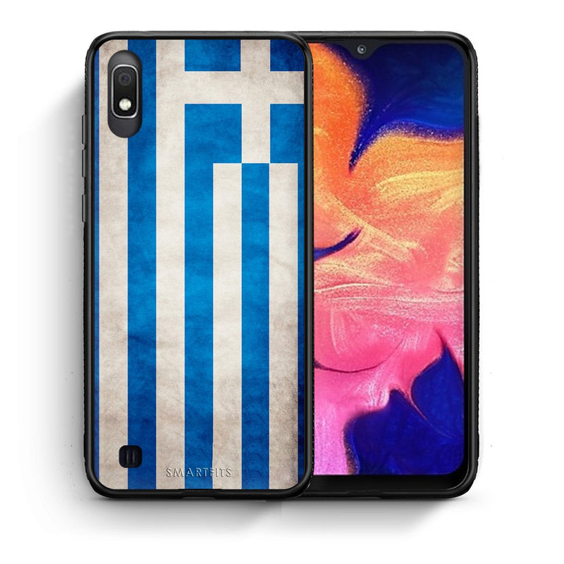 4 - Samsung A10 Greece Flag case, cover, bumper