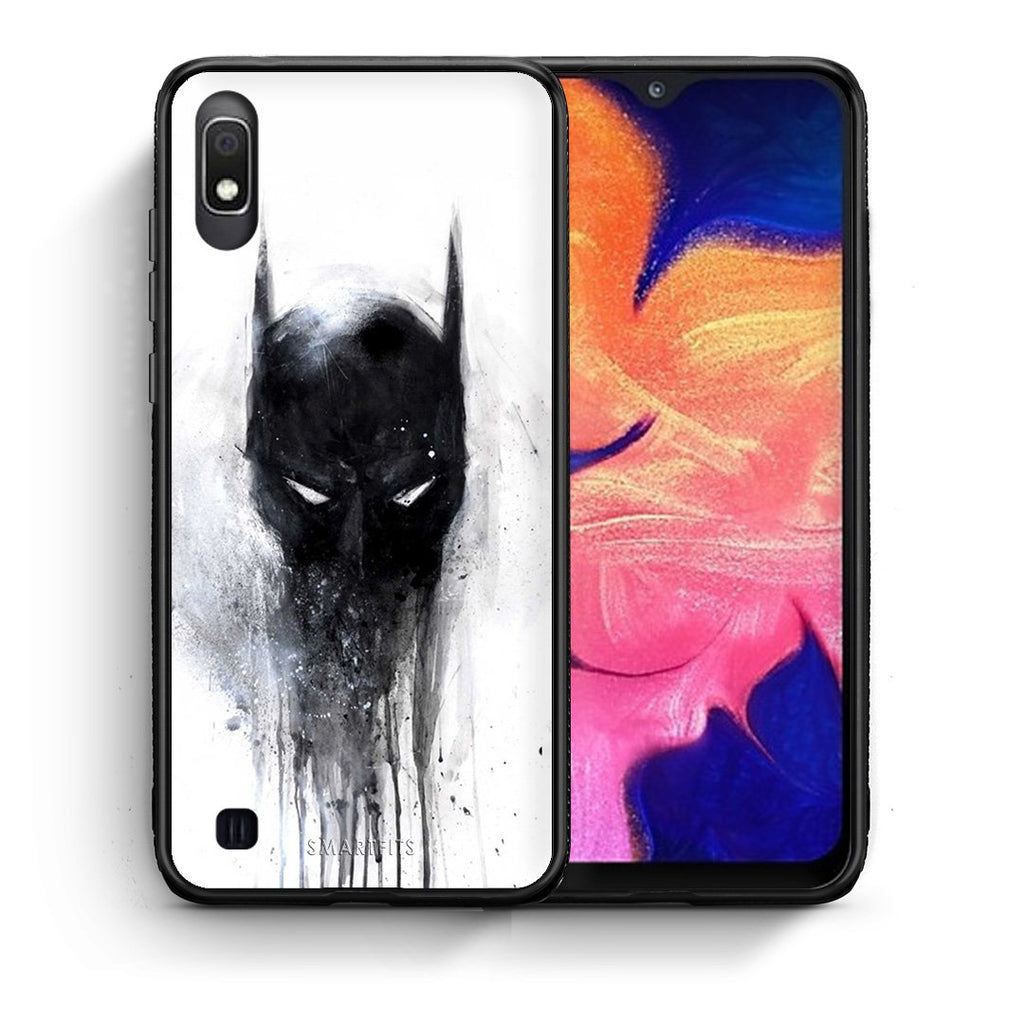 4 - Samsung A10 Paint Bat Hero case, cover, bumper