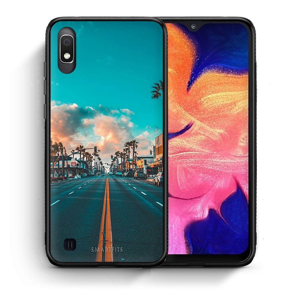 4 - Samsung A10 City Landscape case, cover, bumper