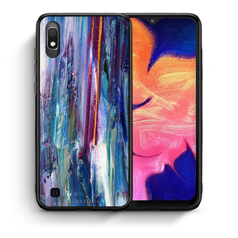 99 - Samsung A10  Paint Winter case, cover, bumper