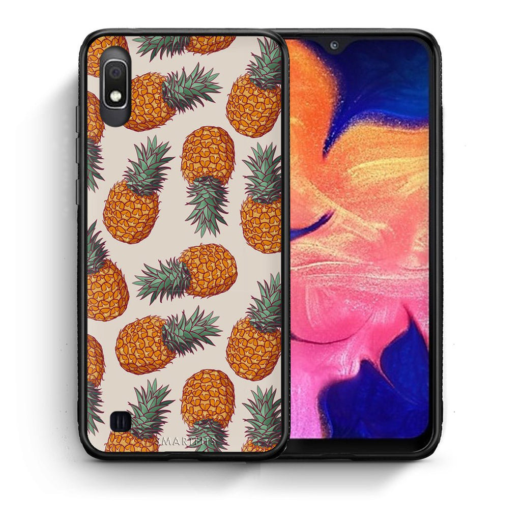 99 - Samsung A10  Summer Real Pineapples case, cover, bumper