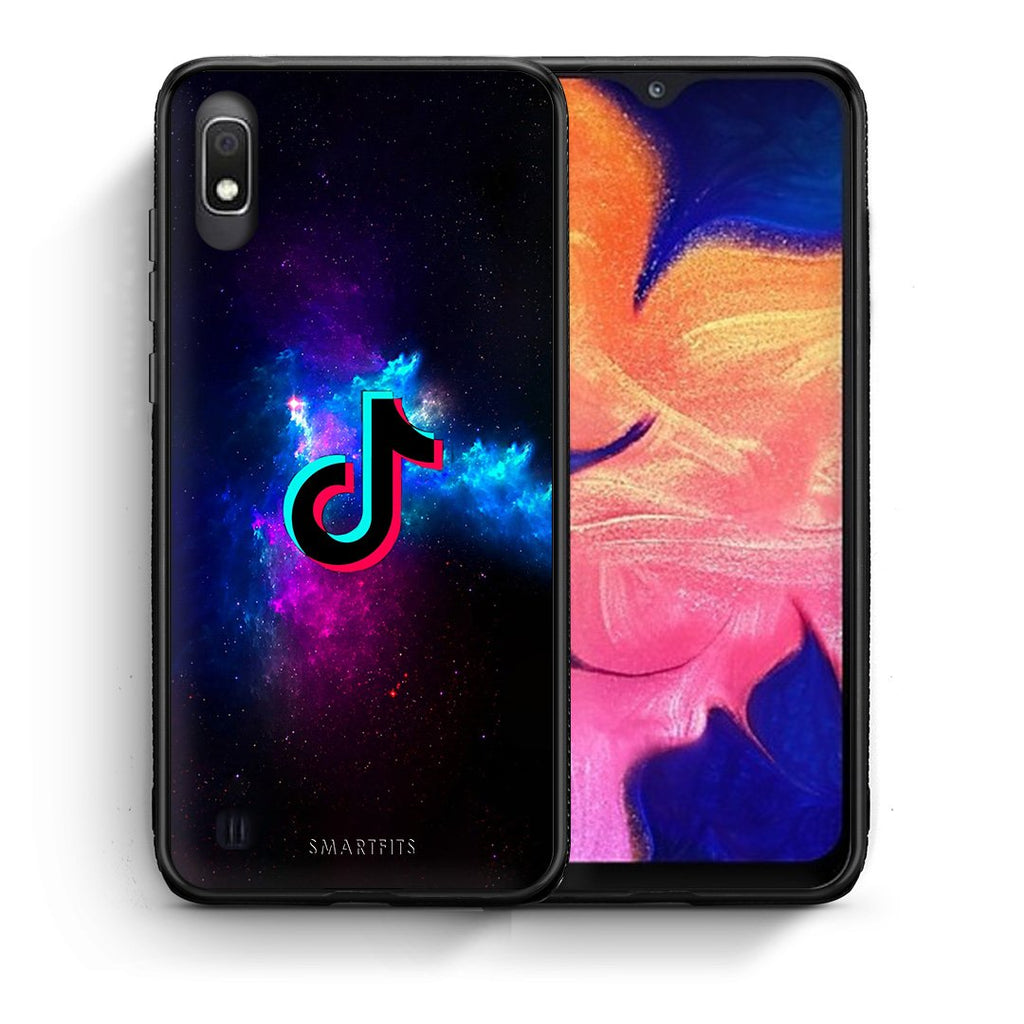 4 - Samsung A10 TikTok Text case, cover, bumper