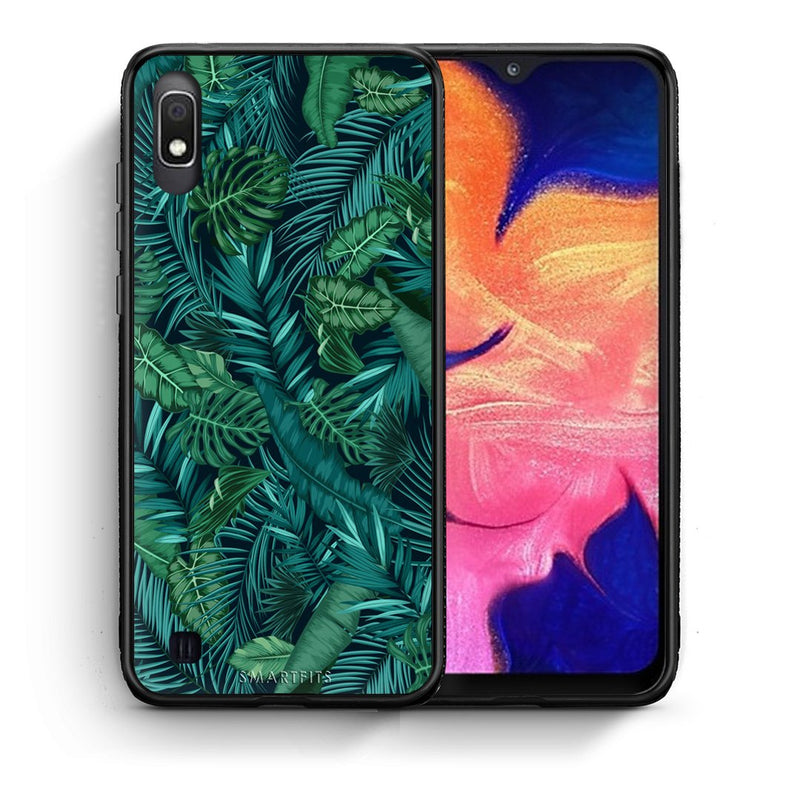 99 - Samsung A10  Tropic Leaves case, cover, bumper