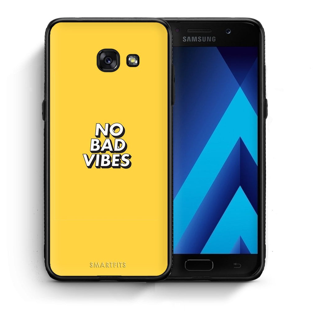 4 - Samsung A5 2017 Vibes Text case, cover, bumper