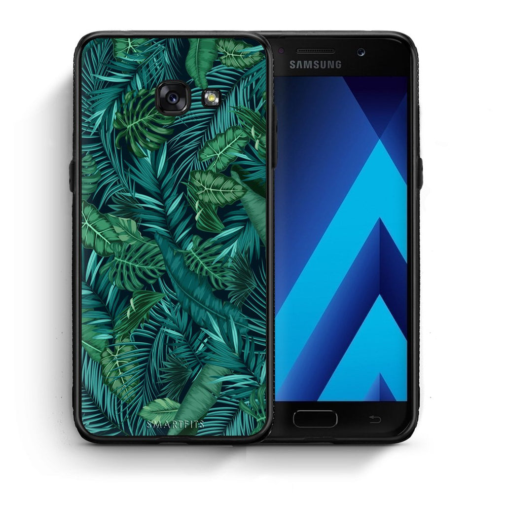 99 - Samsung A5 2017 Tropic Leaves case, cover, bumper