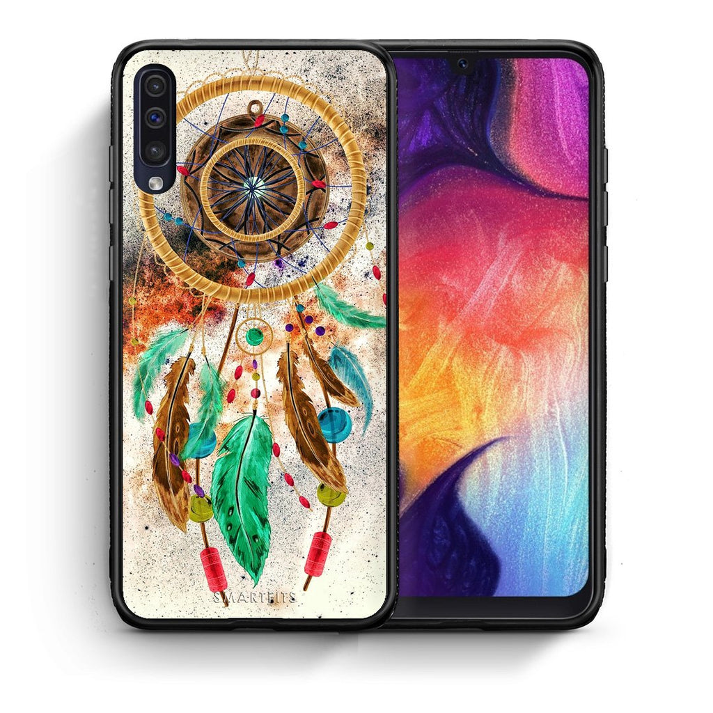 4 - samsung a50 DreamCatcher Boho case, cover, bumper