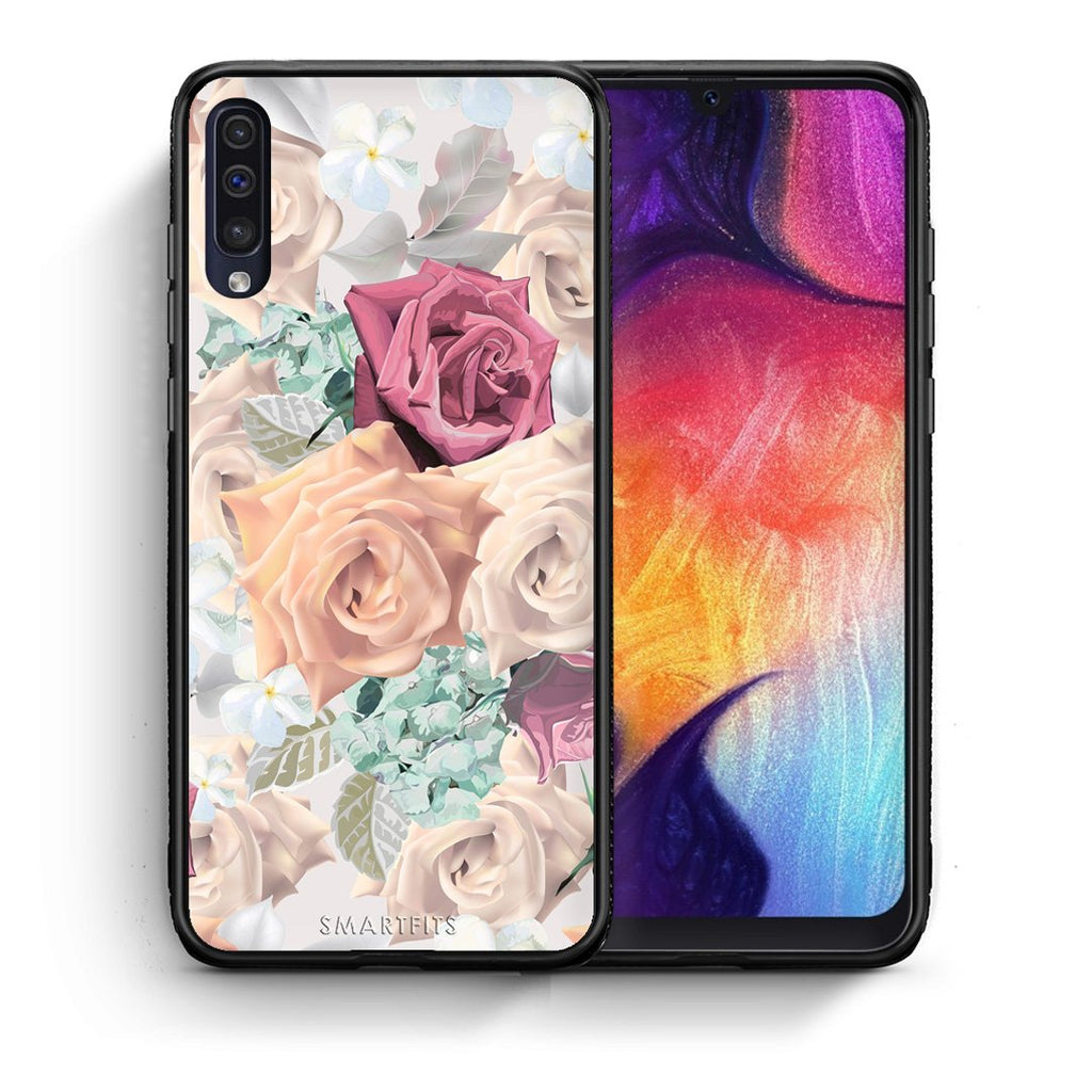 99 - samsung galaxy a50 Bouquet Floral case, cover, bumper