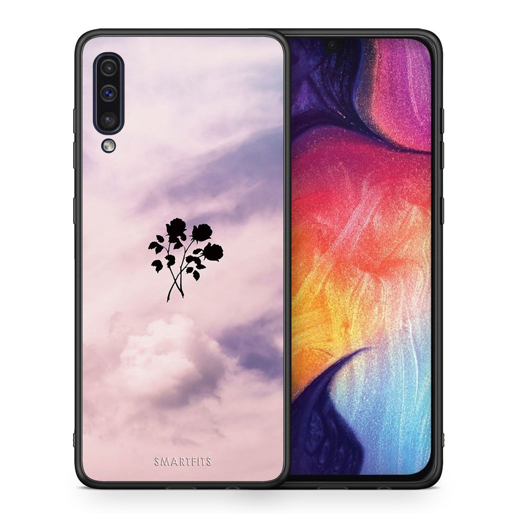 4 - samsung a50 Sky Flower case, cover, bumper