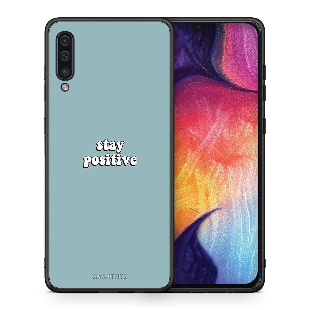 4 - samsung a50 Positive Text case, cover, bumper