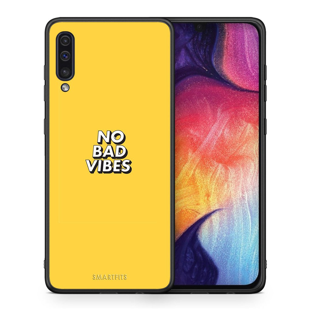 4 - samsung a50 Vibes Text case, cover, bumper