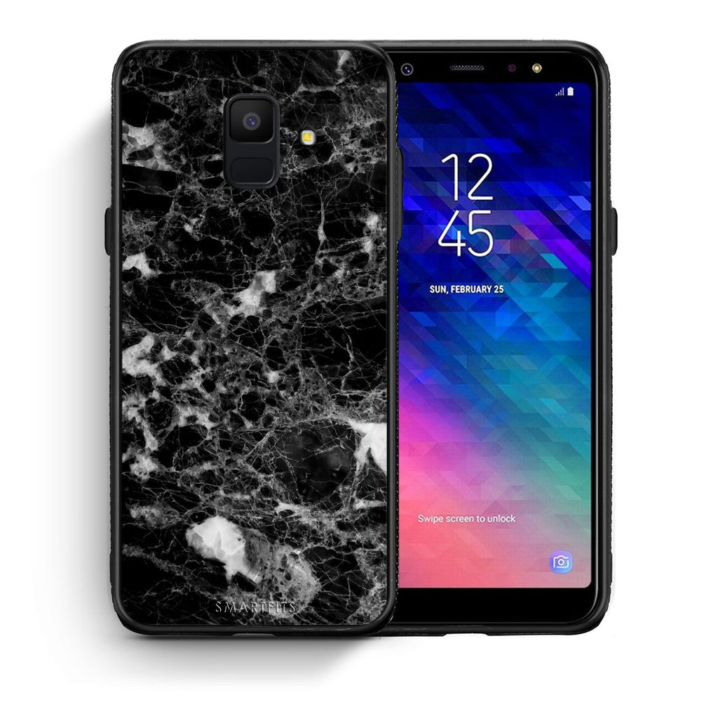 3 - samsung galaxy A6  Male marble case, cover, bumper