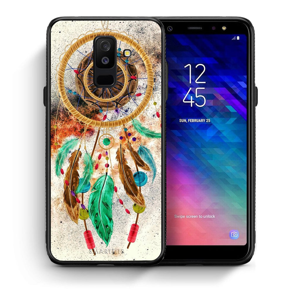 4 - samsung A6 Plus DreamCatcher Boho case, cover, bumper