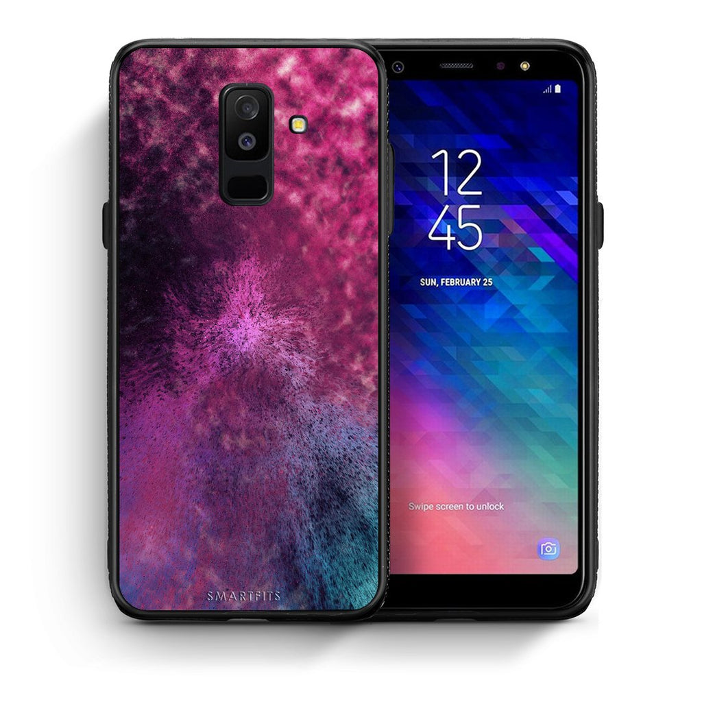 52 - samsung galaxy A6 Plus  Aurora Galaxy case, cover, bumper