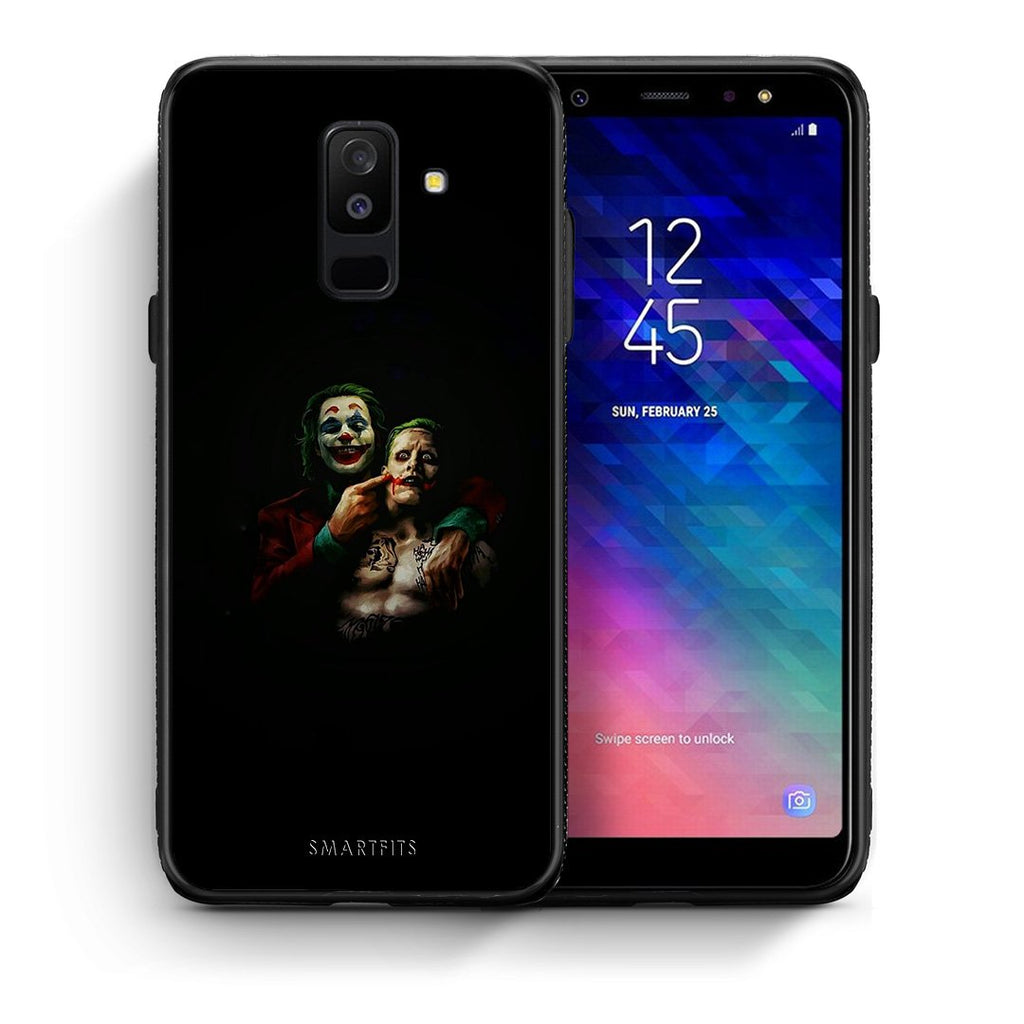 4 - samsung A6 Plus Clown Hero case, cover, bumper
