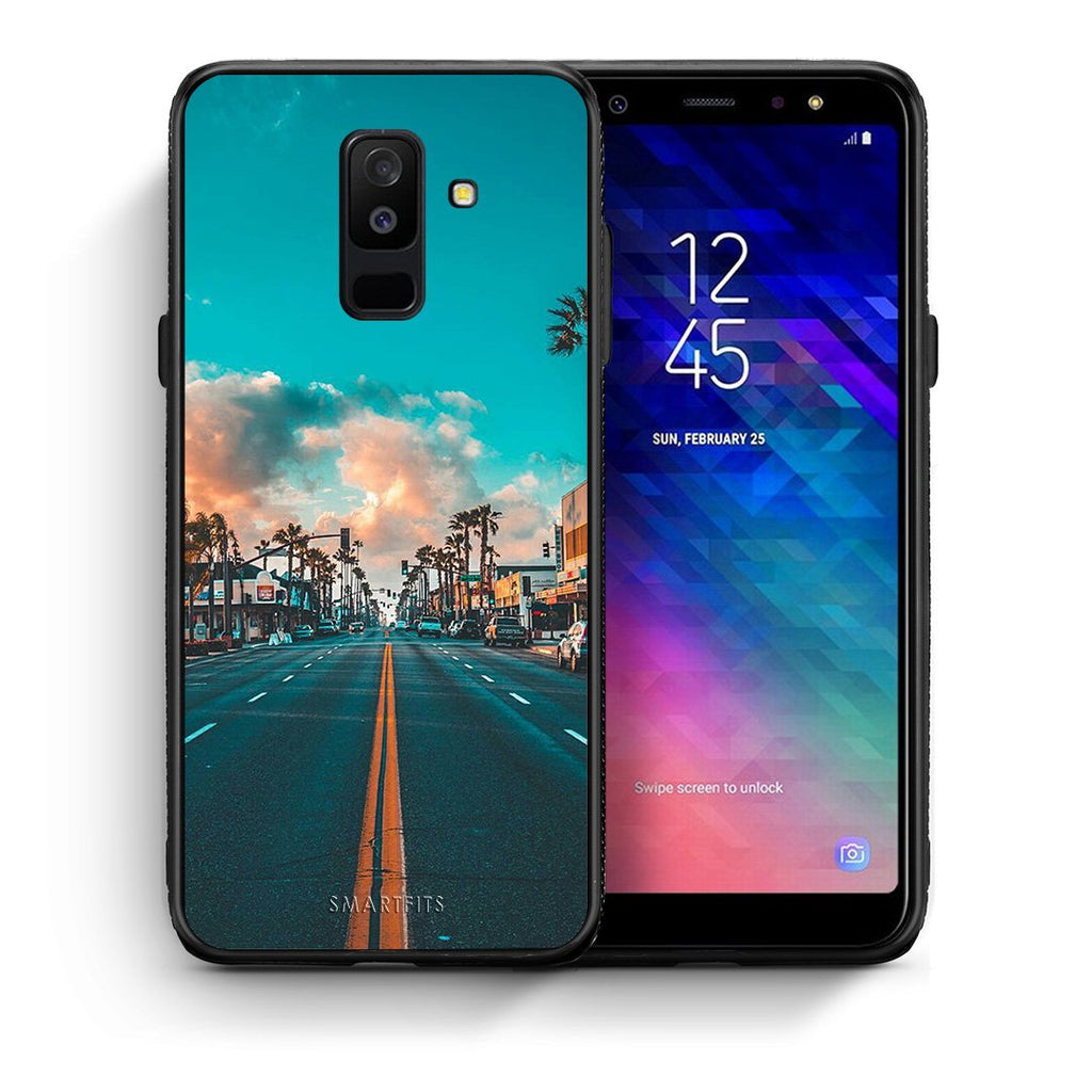 4 - samsung A6 Plus City Landscape case, cover, bumper